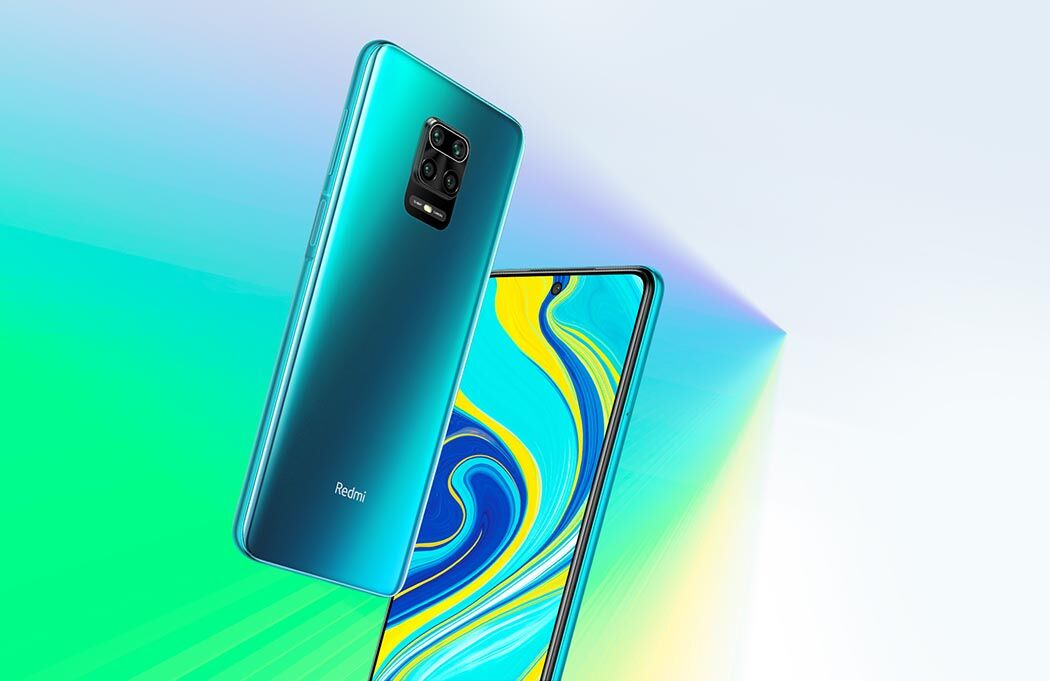 Дизайн смартфона Xiaomi Redmi Note 9S